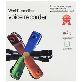 Мини-камера 2 в 1 Voice Recorder Mini DV