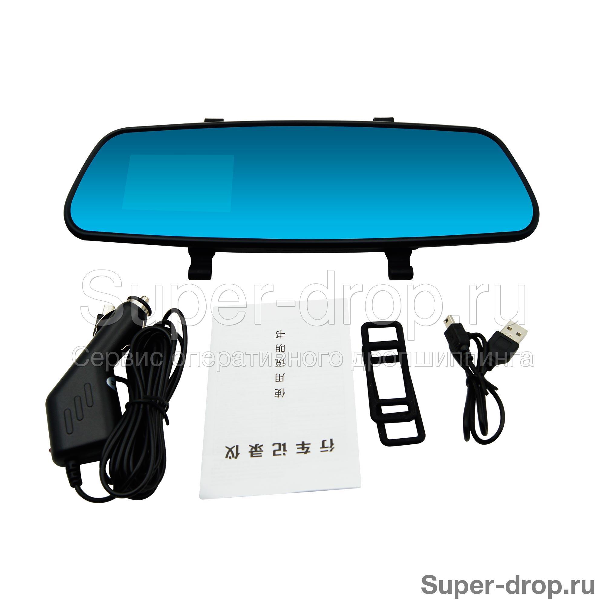 Зеркало заднего вида со встроенным видеорегистратором установка видеорегистраторов вираж
