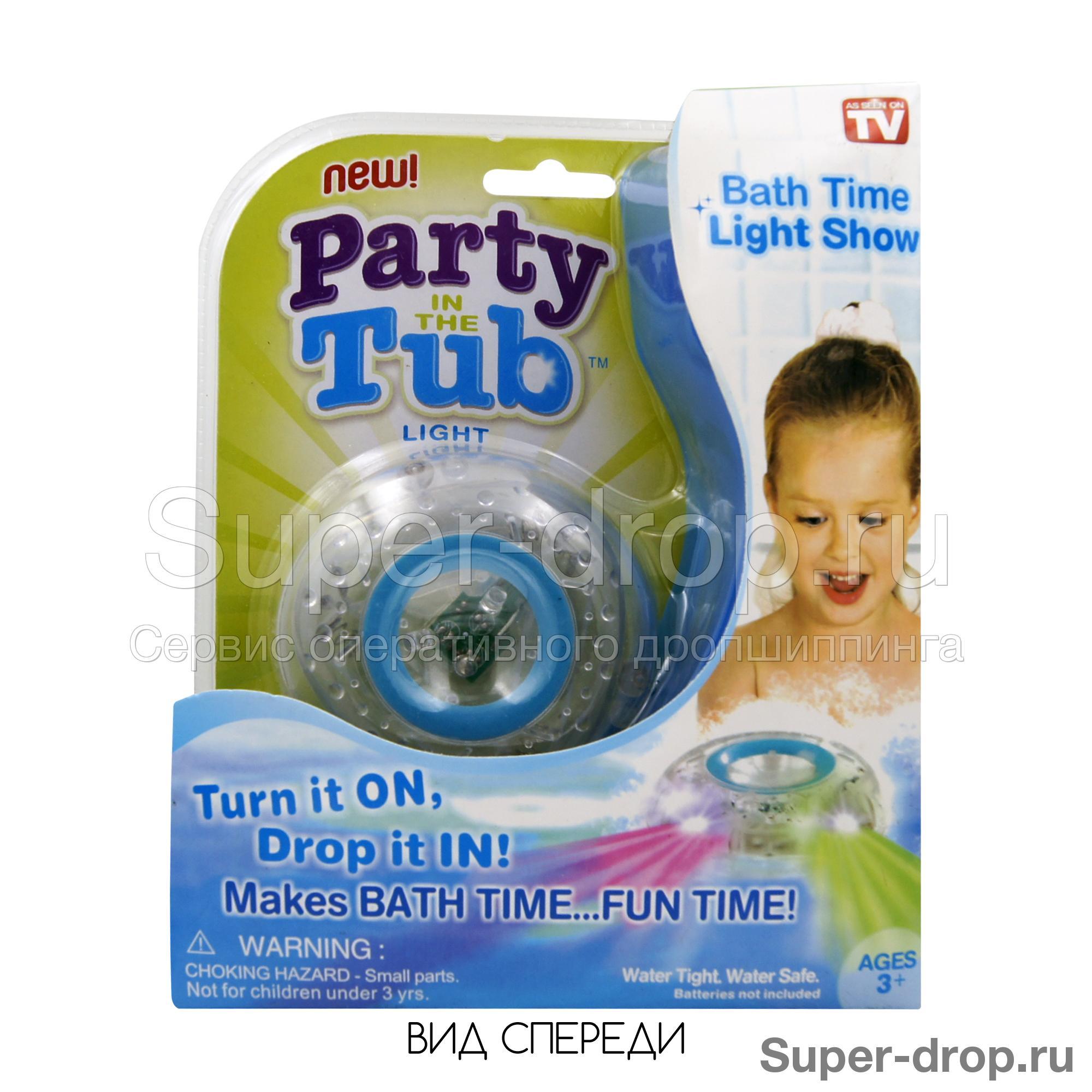 Дропшиппинг Светящаяся игрушка для купания Party in the Tub – Super-Drop