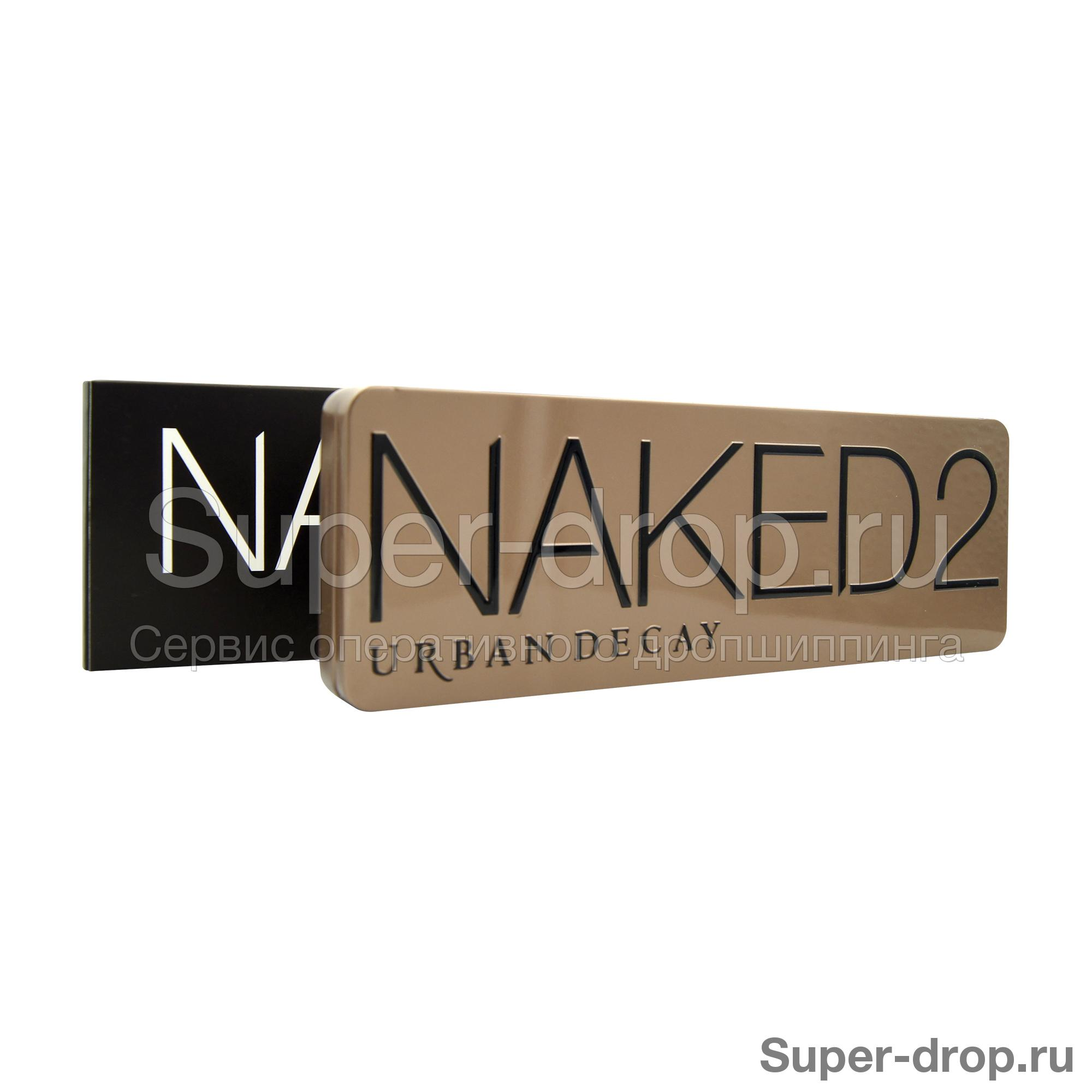 Палитра теней Naked 2 Urban Decay